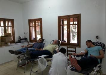 Ολοκληρώθηκε η εθελοντική αιμοδοσία απο τον Πολιτιστικό Σύλλογο Καμηλαρίου