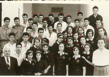 Μαθητές από το Γυμνάσιο Πόμπιας του '60 μέσα από φωτογραφίες μιας άλλης εποχής