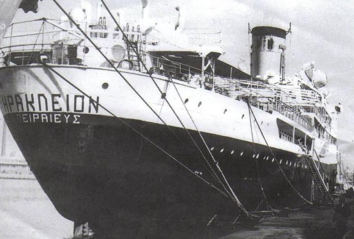 """Το ναυάγιο του """"Ηράκλειον"""" που στοίχισε τη ζωή σε 224 ανθρώπους"""