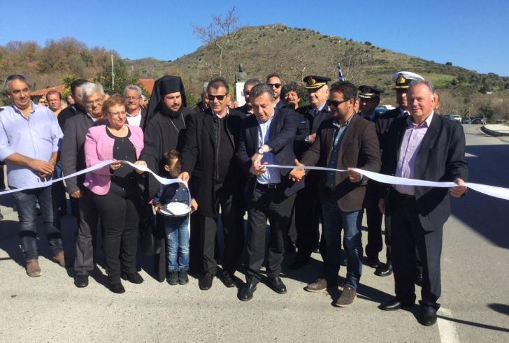 Δήμος Αγίου Βασιλείου: Eγκαινιάστηκαν το Γήπεδο Σελλίων και ο δρόμος Παλέ- Κάνεβος