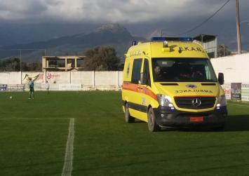 Σοβαρός τραυματισμός ποδοσφαιριστή στο γήπεδο του ΑΟΤ