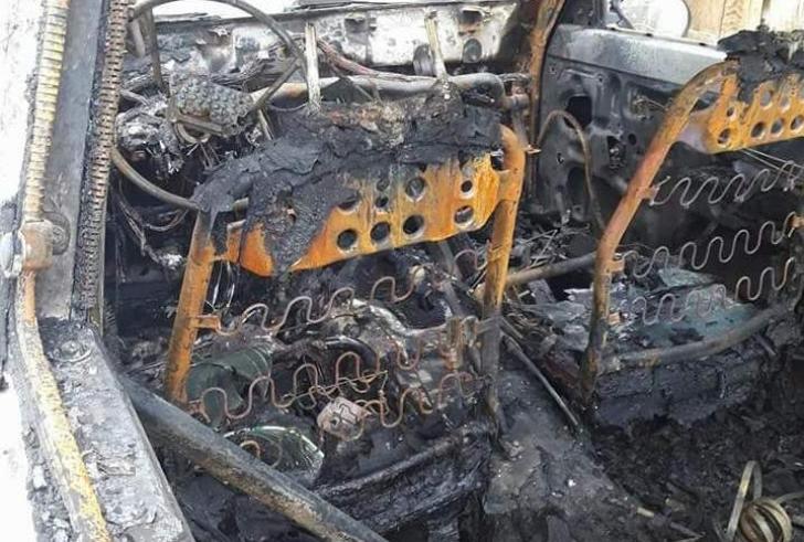 Παρανάλωμα πυρός τζίπ , από βραχυκύκλωμα