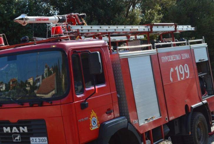 Η έγκαιρη επέμβαση της Πυροσβεστικής απέτρεψε τα χειρότερα
