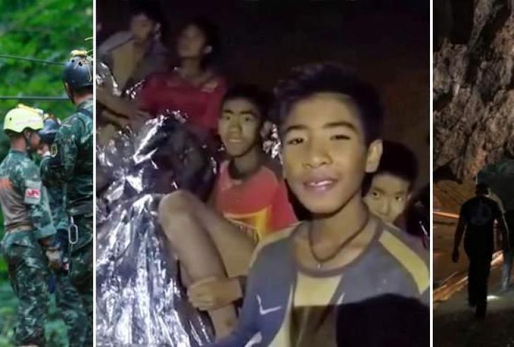 Παγκόσμια συγκίνηση: Το θαύμα έγινε στην Ταϊλάνδη – Βγήκαν από τη σπηλιά όλα τα παιδιά και ο προπονητής