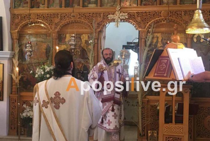 Με τιμές και δάφνες έγινε η υποδοχή του Μητροπολίτη Μύρωνα Κτιστάκη στην Πλώρα
