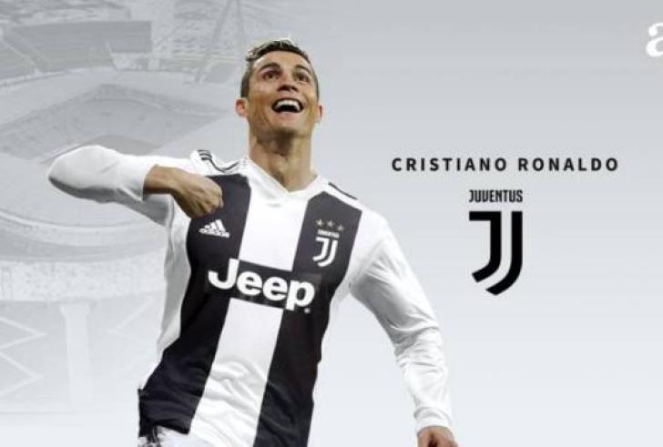 Ο Κριστιάνο Ρονάλντο στη Γιουβέντους, με το κόστος της μεταγραφής να ανέρχεται στα 105.000.000 ευρώ!