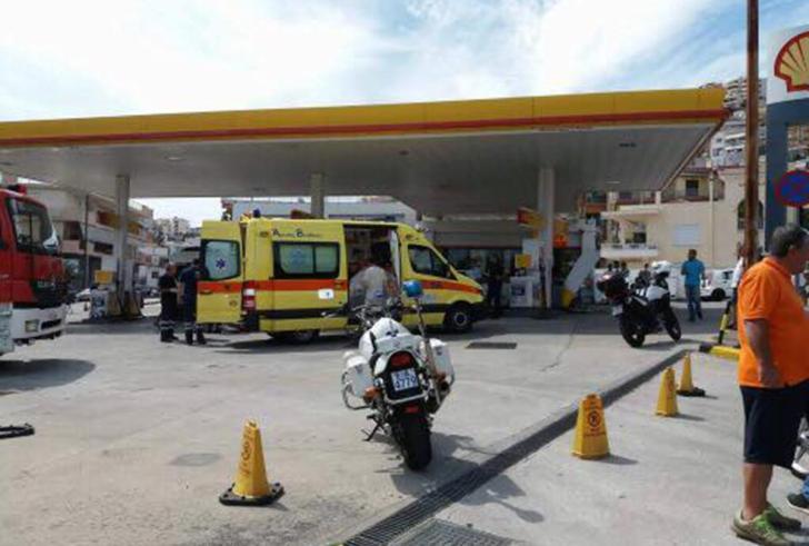 18χρονος επιχείρησε να αυτοπυρποληθεί σε βενζινάδικο στο δρόμο Ηρακλείου – Μοιρών
