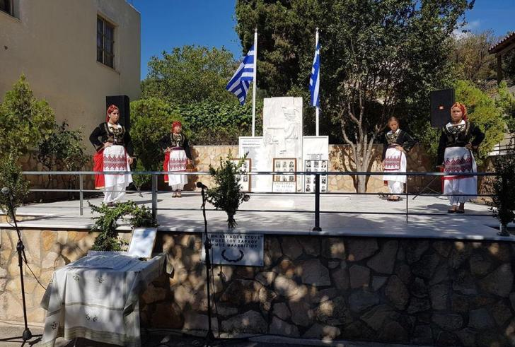 Τίμησαν τη μνήμη των πεσόντων στο Σάρχο