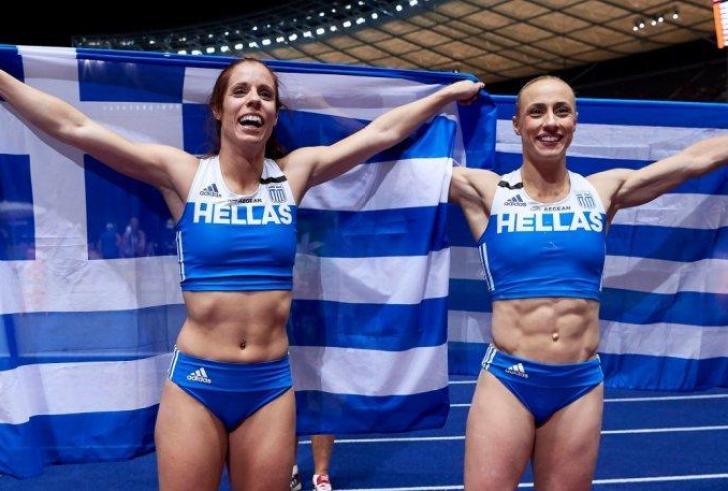 Πρωταθλήτρια Ευρώπης η Στεφανίδη, το ασημένιο η Κυριακοπούλου