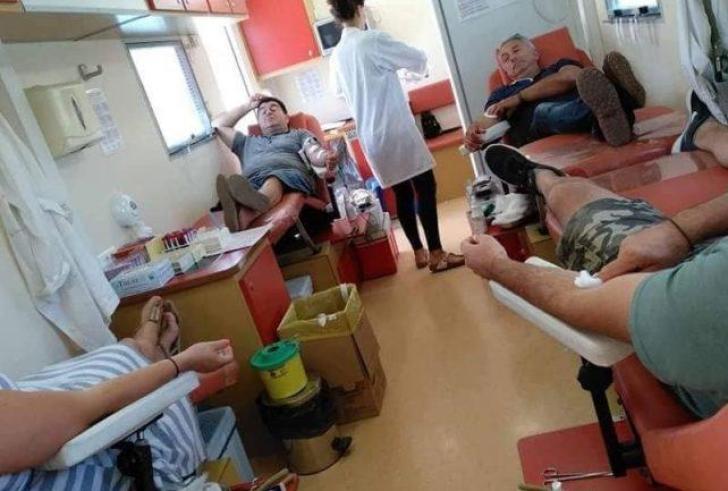 Μεγάλος αριθμός φορέων στην εθελοντική αιμοδοσία στο Γάζι