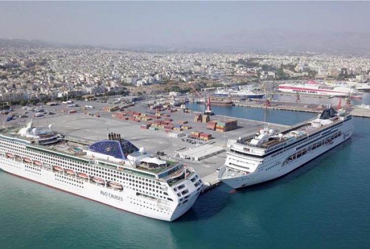 Σε αποχή οι εργαζόμενοι στο λιμάνι Ηρακλείου