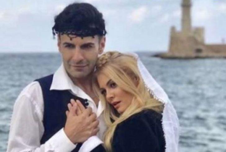 Στην Κρήτη για φωτογράφιση η…Νεράιδα και το παλικάρι