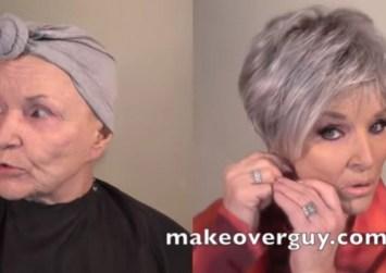 Γιος κινηματογραφεί την θεαματική μεταμόρφωση της 78χρονης μητέρας