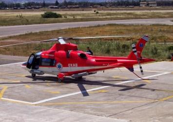 Εξετάζεται το ενδεχόμενο βάσης για ελικόπτερο του ΕΚΑΒ στην Κρήτη