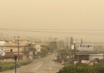 Κρήτη: Προειδοποίηση για μεγάλα ύψη βροχής και  αφρικανικής σκόνης