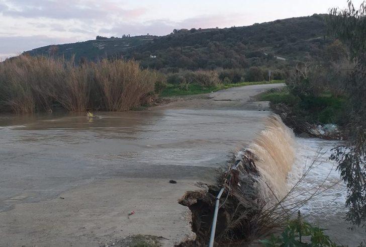 Aυτά είναι τα επικίνδυνα περάσματα του Γεροπόταμου στην κάτω Μεσαρά (φώτο)