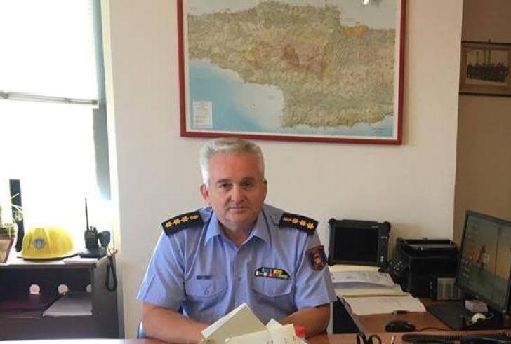 Ανέλαβε καθήκοντα ο νέος Διοικητής Πυροσβεστικής στην Κρήτη