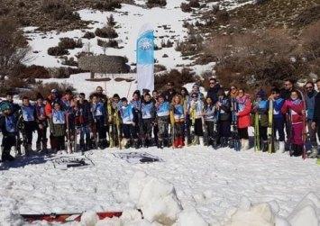 Κρήτη: Φόρεσαν τα πέδιλα του σκι και βγήκαν στο βουνό!