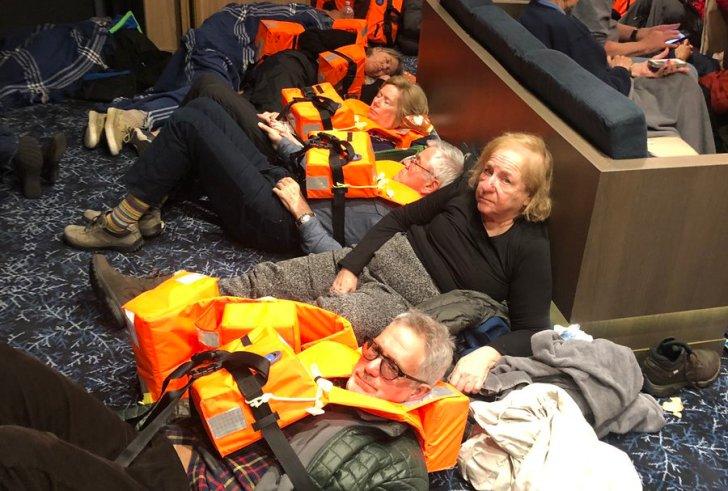 Νορβηγία: Ολονύχτιο θρίλερ για την εκκένωση του κρουαζιερόπλοιου