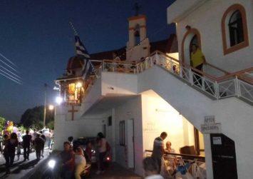 Ηράκλειο: Πυρκαγιά στην εκκλησία του Αγίου Φανουρίου