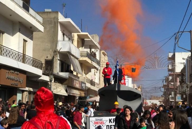 Το ευχαριστώ του Πολιτιστικού Συλλόγου Τυμπακίου για το 9ο Καρναβάλι