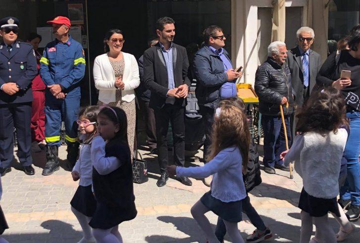Με κάθε επισημότητα ο εορτασμός της 25ης Μαρτίου στον Πύργο του Δήμου Αρχανών- Αστερουσίων