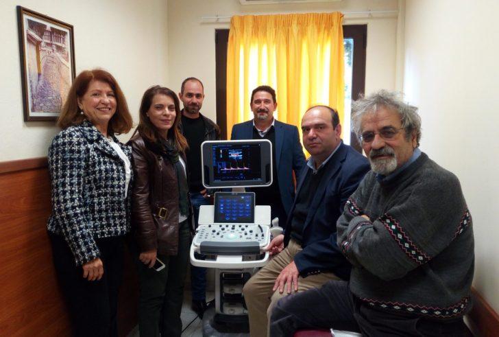 Νέο μηχάνημα Υπερηχοτομογράφου στο Κ.Υ. Χάρακα