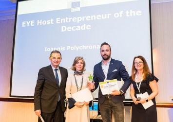 Πανευρωπαική πρωτιά για Νέους Επιχειρηματίες ο Ρεθυμνιώτης Γιάννης Πολυχρονάκης