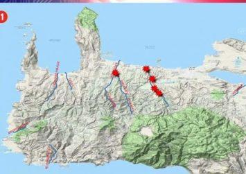 Αλλαγές στο ανάγλυφο της Κρήτης προκάλεσαν οι βροχές! (βίντεο)