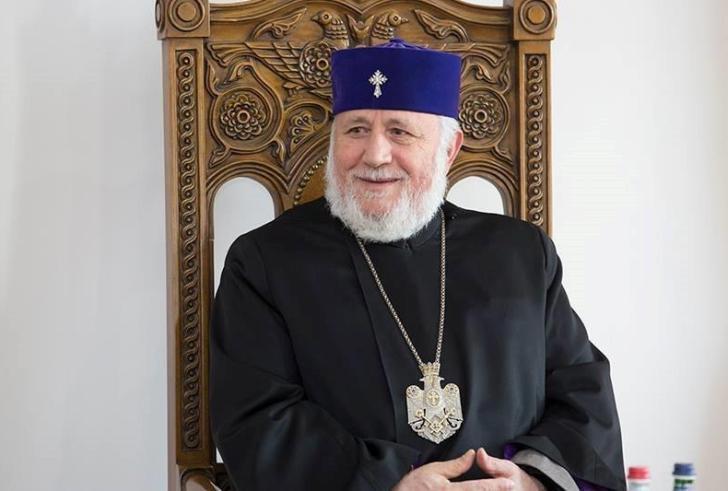 Ιστορική επίσκεψη στην Κρήτη για τον Καθολικό Πατριάρχη Απάντων των Αρμενίων