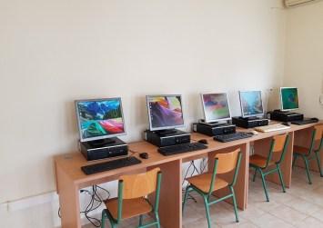 Εγκατάσταση ηλεκτρονικών υπολογιστών στο Δημοτικό Σχολείο Αγίας Γαλήνης