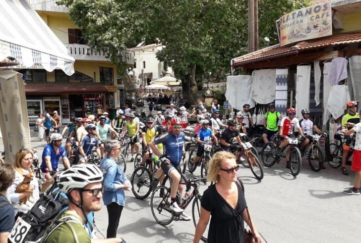 Ξεπέρασε κάθε προσδοκία η συμμετοχή στον 1ο ποδηλατικό αγώνα Δήμου Αγίου Βασιλείου