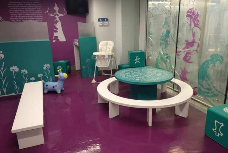 Ηράκλειο: Έφτιαξαν χώρο θηλασμού και παιδότοπο στο αεροδρόμιο Ν. Καζαντζάκης
