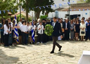 Αυγενάκης: «Η Μάχη της Κρήτης θα μείνει ανεξίτηλα χαραγμένη στις μνήμες των Κρητικών»