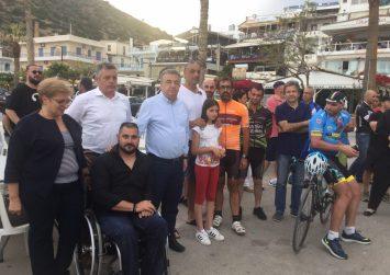 Αρναουτάκης από Αγία Γαλήνη: Η Περιφέρεια στηρίζει τον αθλητισμό, τη νεολαία (φώτο)