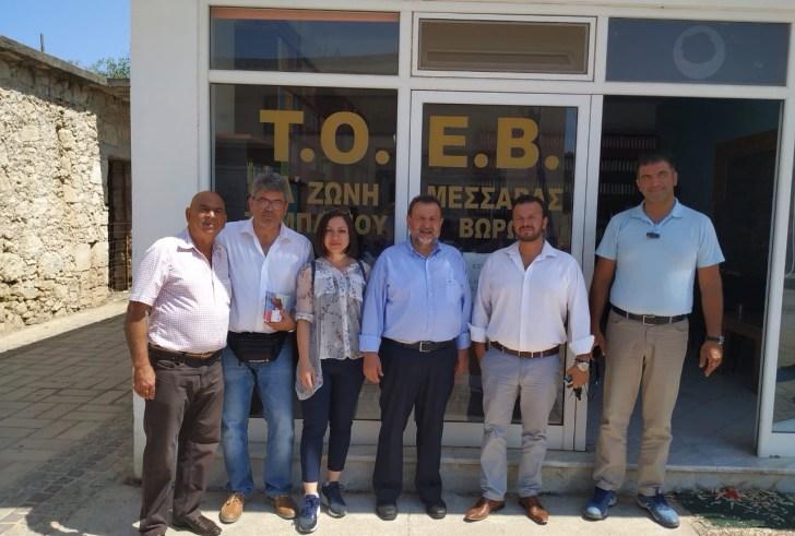 «Στον Αγροτικό Σύλλογο Τυμπακίου και στον ΤΟΕΒ οι υποψήφιοι Βουλευτές του Κινήματος Αλλαγής».