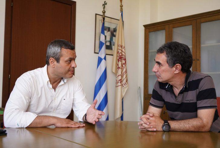 Στο Ελληνικό Μεσογειακό Πανεπιστήμιο ο Χάρης Μαμουλάκης