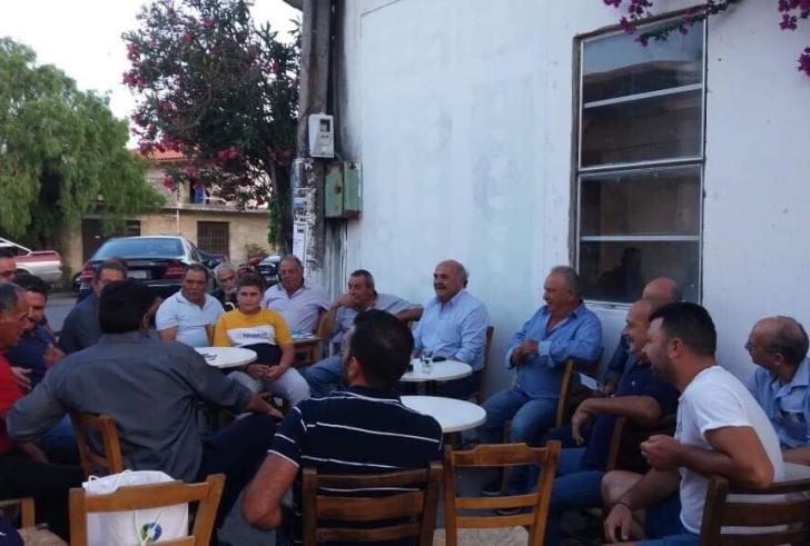 Κοντά στα χωριά της ενδοχώρας του Νομού Ηρακλείου ο Ανδρέας Στρατάκης