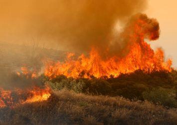 Υπό πλήρη έλεγχο η φωτιά στη Γέννα του Δήμου Γόρτυνας