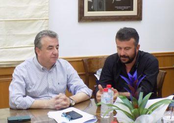 Συνάντηση του νέου δημάρχου Γόρτυνας, Μιχάλη Κοκολάκη, με τον Αρναουτάκη