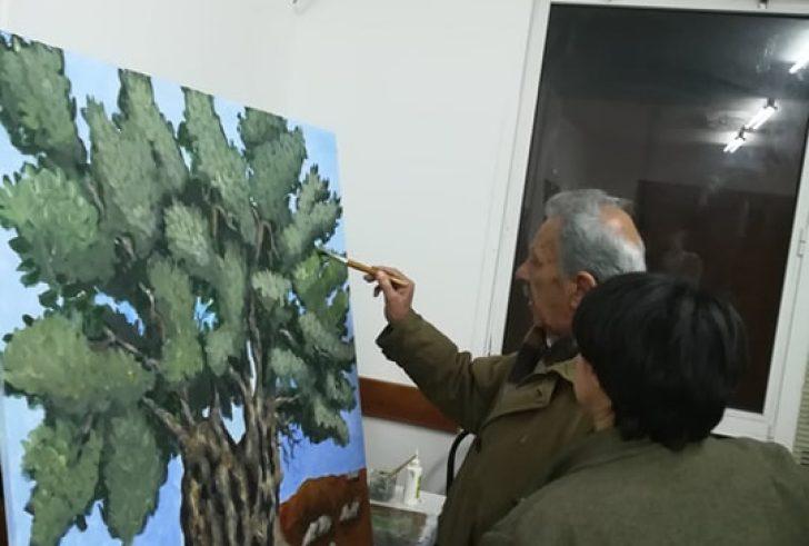 Σήμερα η ομαδική έκθεση ζωγραφικής των μαθητών του Αριστόδημου Παπαδάκη στο Τυμπάκι