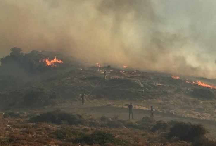Υψηλός κίνδυνος πυρκαγιάς σε όλους τους νομούς της Κρήτης