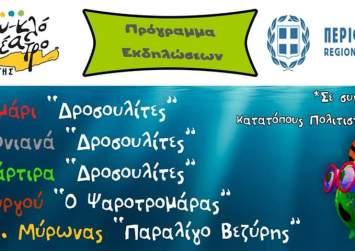 Παραστάσεις κουκλοθέατρου με την στήριξη της Περιφέρειας Κρήτης
