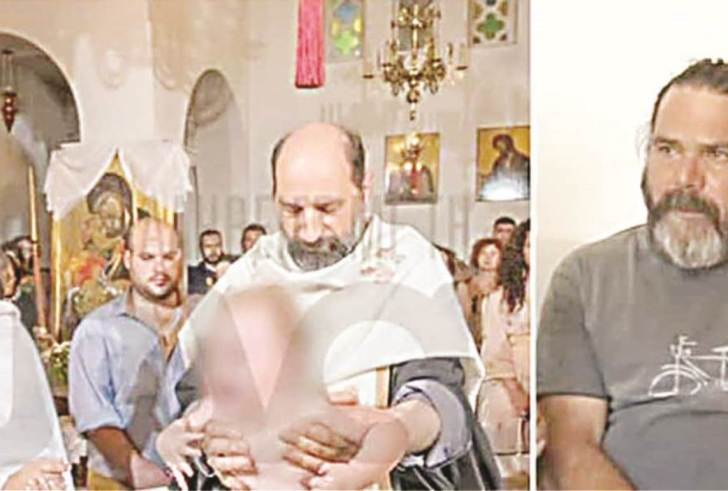 Δάκρυα πένθους και χαράς στη βάπτιση της κόρης του ζευγαριού που πνίγηκαν στο Γεροπόταμο