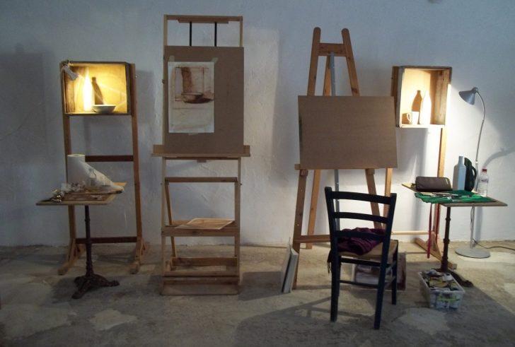 Καλλιτεχνική έκθεση του Mick Hollingworth στο Ατέλιε στο Σίβα