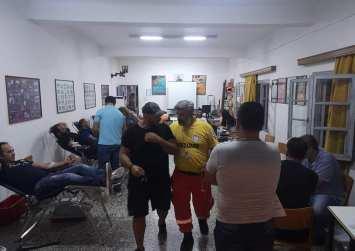 80 φιάλες αίμα συγκεντρώθηκαν στην αιμοδοσία του Ε.Ε.Σ. Μοιρών (φώτο)