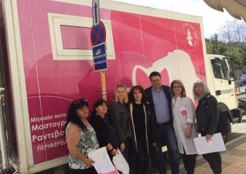 Κοινωνικό μήνυμα της Περιφέρειας Κρήτης για την πρόληψη του καρκίνου του μαστού (βίντεο)