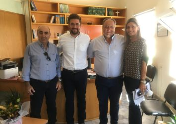 Συνάντηση Μενέλαου Μποκέα με τη διοίκηση του ΚΤΕΛ Ηρακλείου – Λασιθίου