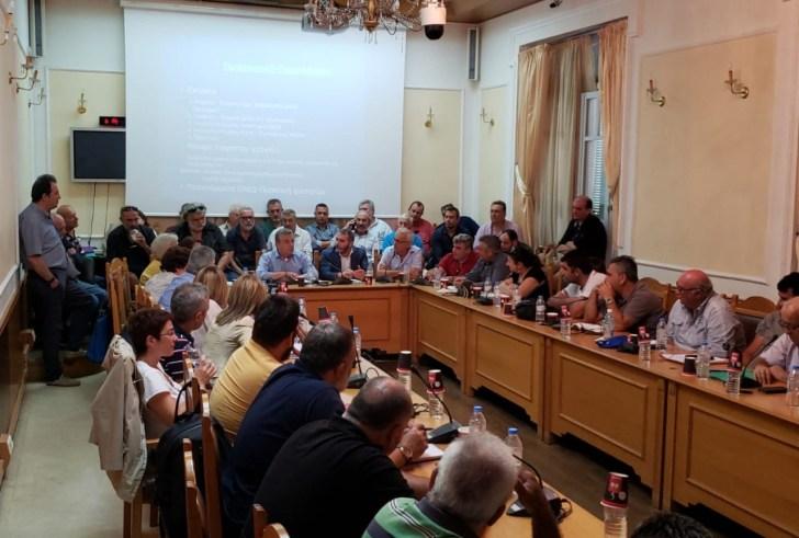 Η Περιφέρεια Κρήτης στηρίζει τους ΤΟΕΒ του νησιού