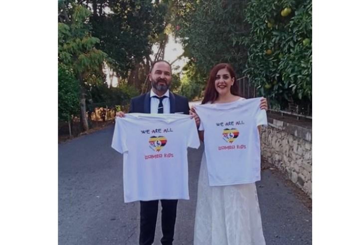 Τυμπάκι: Ο Άρης Τζανάκης και η Λίτσα Ψωμαδάκη στηρίζουν τη δράση τουBombo Kids!